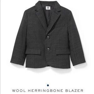 Janie and jack wool herringbone blazer